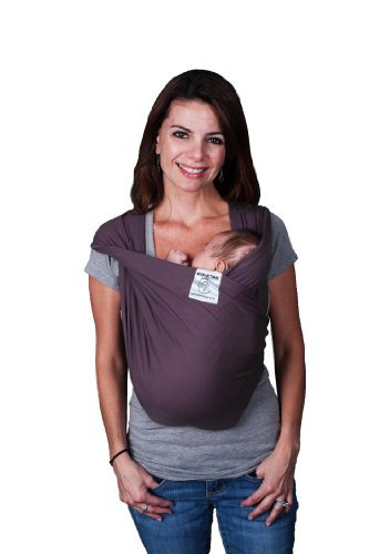 Baby K'Tan Baby Carrier, Eggplant, Medium Color: Eggplant Size: Medium Newborn, Kid, Child, Childern, Infant, Baby