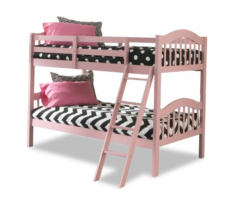 bunk beds longhorn pink kids bedroom furniture girls full size twin bed separate ebay. Black Bedroom Furniture Sets. Home Design Ideas