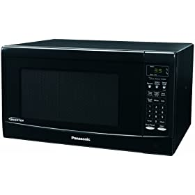 Panasonic NN-SN667B 1.2cuft, 1300 Watt Black, Inverter Technology