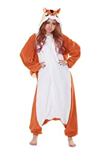 Chipmunk Kigurumi - Adult Costume