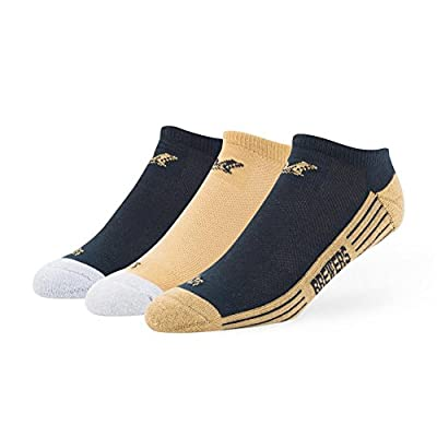 Milwaukee Brewers No Show Socks 3 Pack