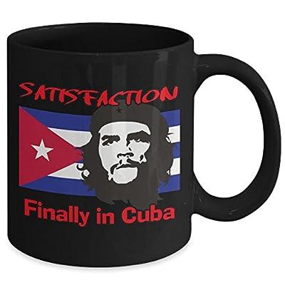 CUBA Che Guevara Coffee Mug Cup - Satisfaction Finally in Cuba