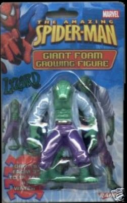 SPIDER-MAN - Giant Foam Growing Figure - LIZARD - 1