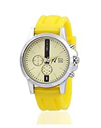 Yepme Mens Chronograph Watch - Yellow_YPMWATCH2022