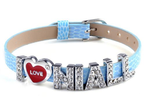 One direction I love niall blue band bracelet