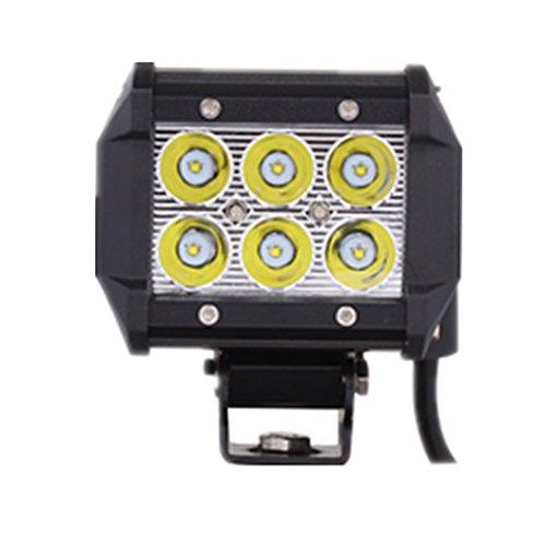 "4"" 18W Cree Led Spot Beam Work Light Vehicle Headlight Driving Fog Light"