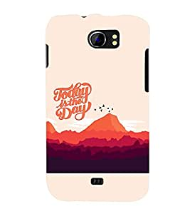 PRINTSWAG TEXT Designer Back Cover Case for MICROMAX A110 CANVAS 2