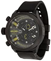 Welder by U-Boat K38 Oversize Chronograph Black Ion-Plated Steel Mens Watch K38-702 from Welder
