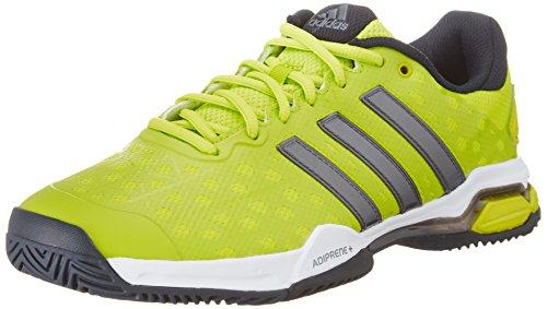 adidas PerformanceBarricade Club - Scarpe da Tennis Uomo , Giallo (Gelb (Semi Solar Lime S16/Night Met. F13/Core Black)), 45 1/3