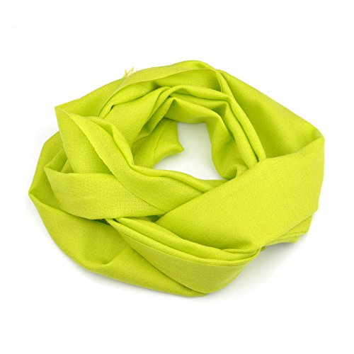 Winter Cashmere Scarf Ladies and Womens Pure color