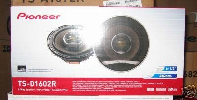Pioneer Tsd1602R 6.5 Inch Two-Way Speakers With 260 Watts Max Power front-673984
