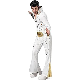 Men's Fat Elvis Deluxe Costume