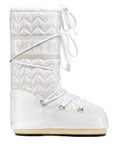 Tecnica Womens Royale Moon Boot White Size 44 EU (9-10.5 D US)