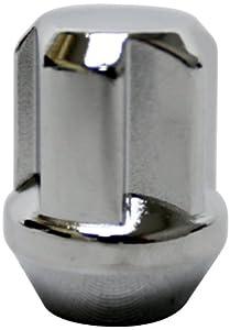 Kics WT603 Bull Lock Chrome (12mm x 1.25 Thread Size) Tuskey Lock Set