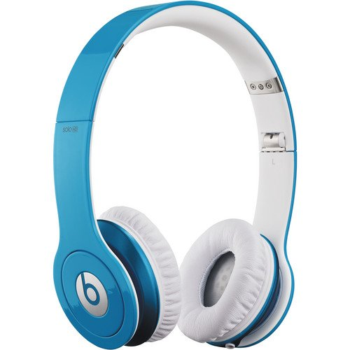 Beats By Dr. Dre First Generation Solo Hd On-Ear Headphones (Light Blue)
