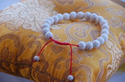 Lotus Seed Wrist Mala/ Bracelet for Meditation