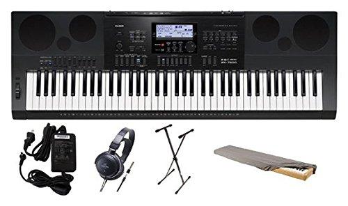 [해외]전원 공급 장치와 카시오 (76) - 키 워크 스테이션 키보드/Casio 76-Key Workstation Keyboard with Power Supply