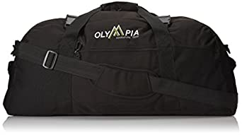 Olympia Luggage 30 Inch Sports Duffel Bag, Black, One Size