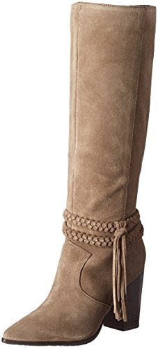 Image of Kenneth Cole REACTION Women's Pull Apart Motorcycle Boot, Putty, 7.5 M US