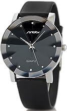 Comprar Alienwork Sinobi Reloj moda cuarzo elegante Poliuretano negro negro U981-01