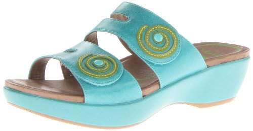 Dansko Women'S Dixie Dress Sandal,Turquoise,40 Eu/9.5-10 M Us front-1050079