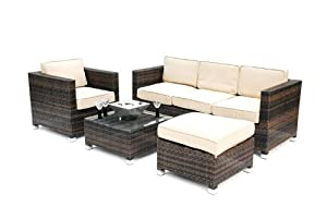 Kontiki 4 Piece Conversation Sofa Set from Kontiki