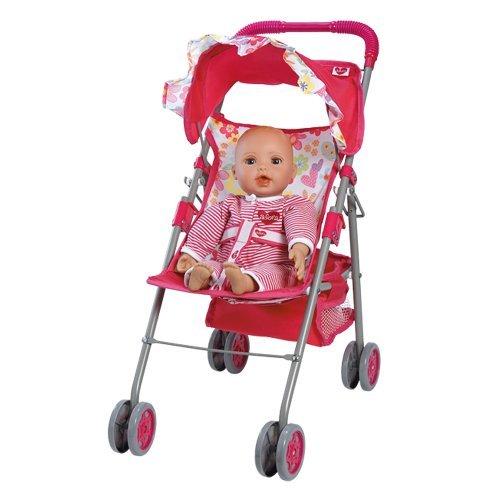 Adora Doll Accessories Medium Shade Umbrella Stroller Color: Medium Shade Umbrella Stroller Toy, Kids, Play, Children front-719532