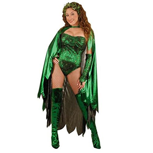 Adult Women's Poison Ivy Costume (Size: Small 4-6)