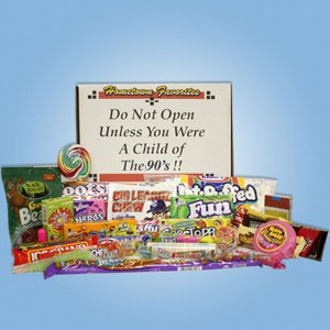 90s Decade Box Gift Basket - Classic 90's Candy