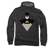 Batman Simple Bat Pull Over Hoodie
