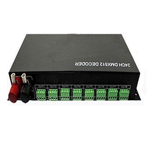 Generic Dmx 512 24Ch 24 Channel Decoder Controller Dc 12V-24V For Rgb Led Light Lamp Illumination Strip
