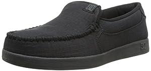 DC Men's Villain TX Skate Shoe,Black Rinse,10.5 M US
