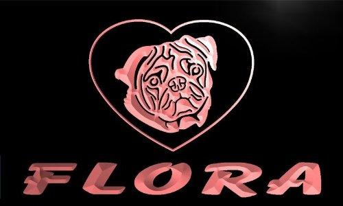 veg350-r-floras-pug-dog-pet-house-custom-neon-light-sign