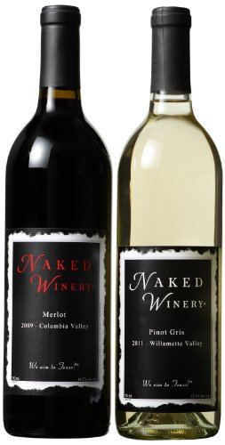Naked Winery  Naked Couple Mixed Pack (Library Edition) 2 X 750 mL