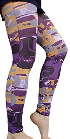 Colorful Pablo Print Footless Tights by Foot Traffic