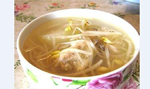 Sardines zucchini soup bean sprouts by hongchu gan