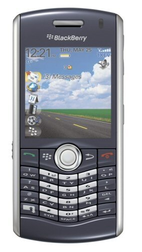Blackberry Pearl 8110 Smartphone GPS Appareil Photo Clavier Qwerty 64 Mo Noir