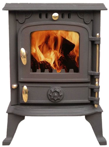 6 KW Multi fuel Wood Burning Stove