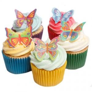 Butterfly Cake Decoration Uk : 12 Stunning Butterflies- Beautiful Edible Cake Decorations ...