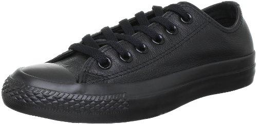 Converse Chuck Taylor AS OX 1T865 black leather mono, Größe:EUR 37