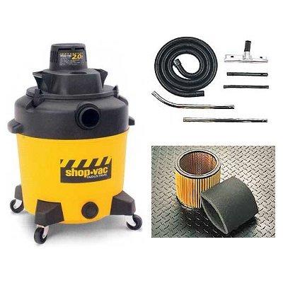 Buy Shop Vac 2.0 HP Peak; 12 gallon lightweight poly tank w/ drain (Shop Vac Power Tools,Power & Hand Tools, Power Tools, Vacuums & Dust Collectors, Wet-Dry Vacuums)