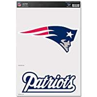 New England Patriots Ultra Decals by Wincraft