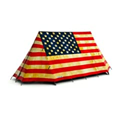 Old Glory 2-Person Tent by FieldCandy