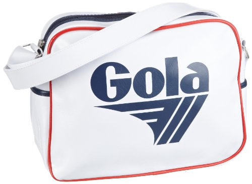 Gola Redford Shoulder Bags White/Navy/Red - classic styling - 7 colours available