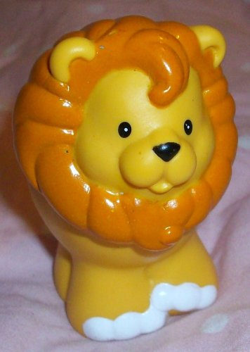 Buy Low Price Mattel Fisher Price Little People Lion Replacement Figure Doll Toy (B0025IXUFC)