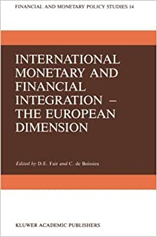 monetary integration essays in international finance Research dealing with the theory of monetary integration is reviewed after briefly describing the genesis of the theory as foreshadowed in work on optimum currency areas, the paper assesses two main areas of recent research — the analysis of the effects of disturbances on participating countries in a currency area, and.