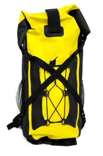 FA Sports Wander-Rucksack Hikefox Ip, gelb/schwarz,