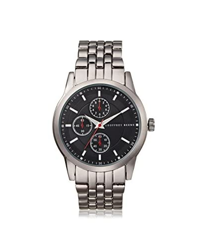 Geoffrey Beene Men's GB8022GURD Metal/Gun Stainless Steel Watch