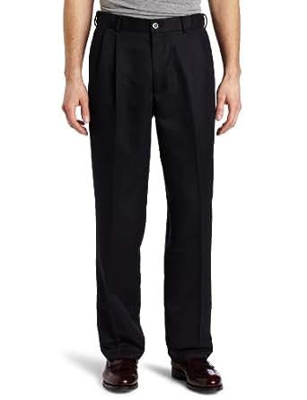 Dockers Men's Advantage 365 Khaki D3 Classic Fit Pleated Pant, Navy, 31x30