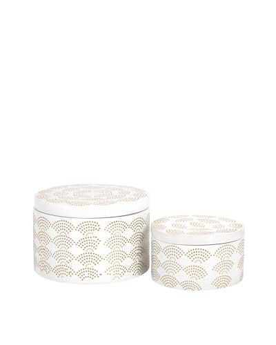 Set of 2 Olivia Boxes As You See